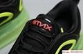 Men's Nike Air Max 720 Running Shoes Black/Bright Crimson/Volt AO2924 008 5