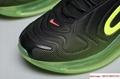 Men's Nike Air Max 720 Running Shoes Black/Bright Crimson/Volt AO2924 008 10