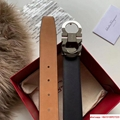 Ferragamo  ADJUSTABLE GANCINI BELT REAL