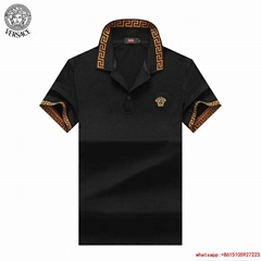 NWT Double Icon Black Versace Polo T Shirt ALL SIZES in stock versace polo