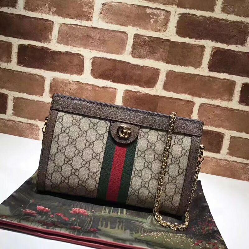 d591d9e83 Gucci Ophidia GG small shoulder bag GG Supreme canvas gucci shoulder ...