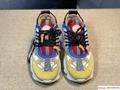 Versace Men's Chain Reaction Tribute Sneakers Fashion shoes lace up versace shoe 8