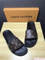Louis Vuitton MONOGRAM RUBBER ANATOMIC INSOCK FLEXIBLE OUTSOLE lv slides sandal