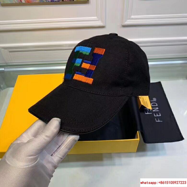 New Fendi FF Logos Hat Baseball Ajustable Cap fendi hat fendi cap 3