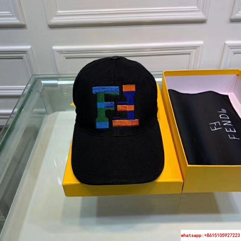 New Fendi FF Logos Hat Baseball Ajustable Cap fendi hat fendi cap 4