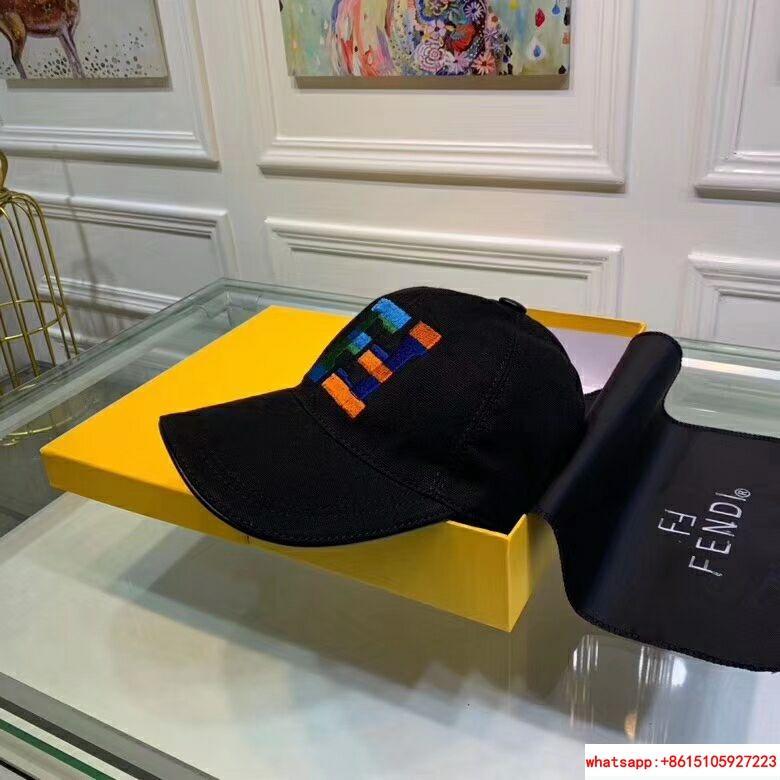 New Fendi FF Logos Hat Baseball Ajustable Cap fendi hat fendi cap 8