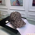 Dior Embroidery Hat Baseball Adjustable
