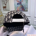 Dior Embroidery Hat Baseball Adjustable Black Cap for Men or Women dior hat 7