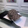 Dior Embroidery Hat Baseball Adjustable Black Cap for Men or Women dior hat 8