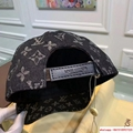 New Black LV019 Hat Baseball Cap Adjustable Hat Unisex lv hat 8