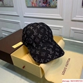 New Black LV019 Hat Baseball Cap Adjustable Hat Unisex lv hat 10
