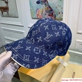 New Black LV019 Hat Baseball Cap Adjustable Hat Unisex lv hat 3