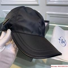 Prada Black Baseball Hat Cap Adjustable prada hat