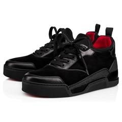 Christian Louboutin's black Aurelien sneakers