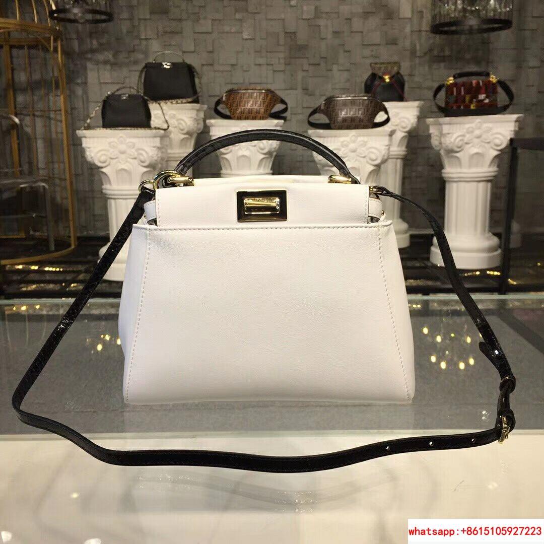 e89b29e088 fendi PEEKABOO MINI fendi handbags fendi bag white leather (China ...