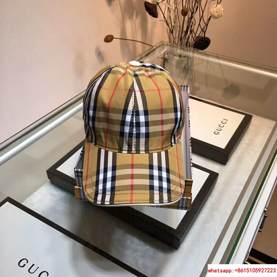 New Burberry Baseball Hat Adjustable Cap Unisex Brown burberry hats burberry cap 6