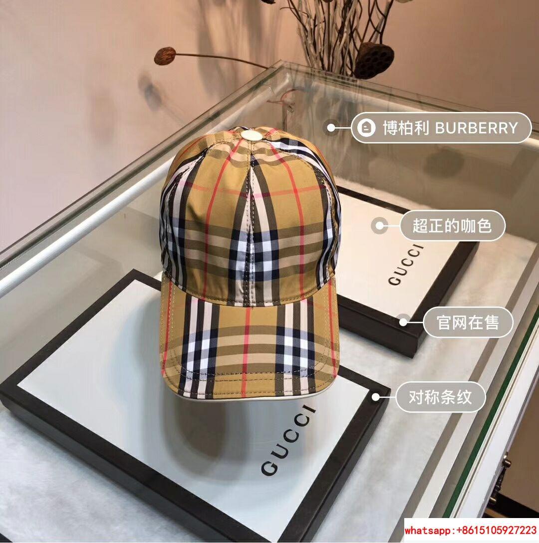 New Burberry Baseball Hat Adjustable Cap Unisex Brown burberry hats burberry cap 7