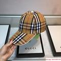 New Burberry Baseball Hat Adjustable Cap Unisex Brown burberry hats burberry cap 8