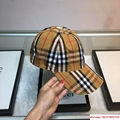 New Burberry Baseball Hat Adjustable Cap