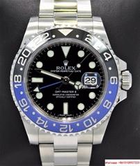 Rolex GMT-MASTER II 116710 BLNR BATMAN Black/Blue Ceramic Bezel rolex watch
