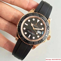 Rolex Yacht-Master 40 116655 Rose Gold Oysterflex BOX AND PAPERS 2016