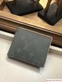 Louis Vuitton Monogram Titanium Grey Multiple Wallet M63297 New lv men wallet