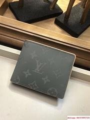 Monogram Titanium Grey Multiple Wallet M63297 New    men wallet