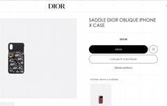 Saddle dior phone case iPhone6 6plus 7 7plus 8 8plus iphone X Xs Xr XsMax