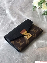 Louis Vuitton Pallas Compact Wallet Monogram Canvas and Calf Leather lv wallet