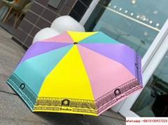 gucci full automatic rainbow colour umbrella