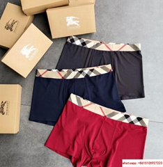 burberry men underware modal material