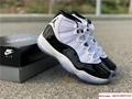 Nike Air Jordan 11 XI Retro Concord Basketball White Black 378037 100 jordan  7