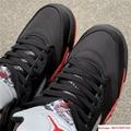 Nike Air Jordan 5 Retro V AJ5 Satin Bred Black Red Men Shoes Sneakers 136027 006 7