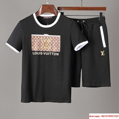lv short suit lv tshirt lv shirt %100 cotton