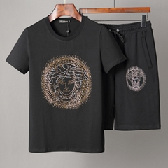 versace short suit versace %100 cotton lv suirt lv shirt