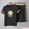 versace suit versace %100 cotton casual suit versace tshirt with short