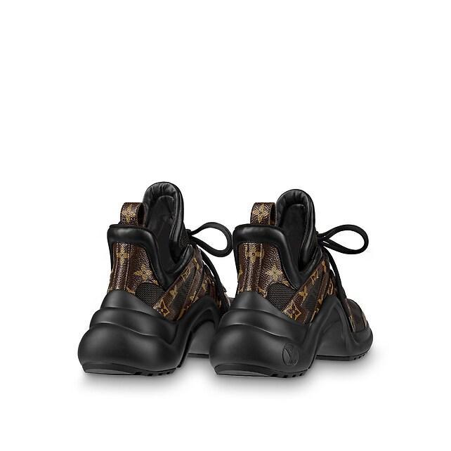 archlight sneaker Patent Monogram canvas             black women shoes     2