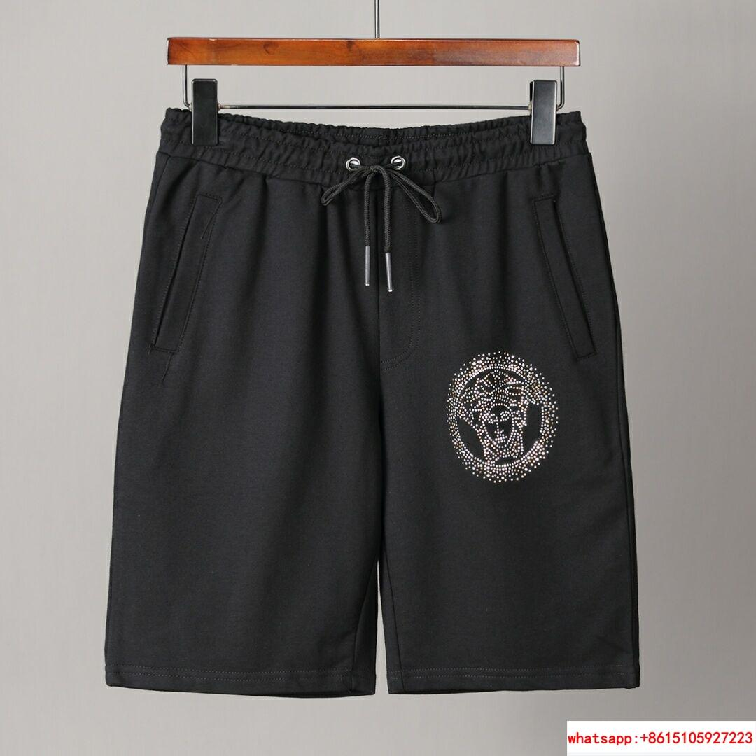 Men Shirt Suit Short Sleeve Summer Youth Casual Solid T-shirt Shorts 2Pcs 2