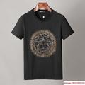 Men Shirt Suit Short Sleeve Summer Youth Casual Solid T-shirt Shorts 2Pcs 9