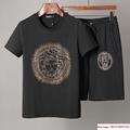Men Shirt Suit Short Sleeve Summer Youth