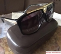 hotsale    sunglass    black sunglass gold frame with complete packing  (Hot Product - 1*)