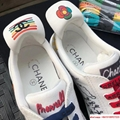 Pharrell Williams CC Logo Canvas Graffiti Low top  Sneakers Capsule Collection  4