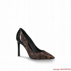 Louis Vuitton cherie pump lv monogram high heel shoes lv pump10cm  1A4W3Z