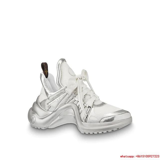 louis vuitton archlight sneaker Silver