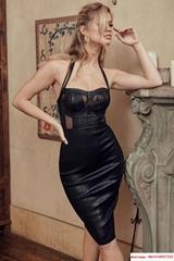 herve leger dress HL dress sexy  luxury black dress