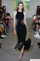herve leger  dress black sexy long  dress hl dress  with free shipping