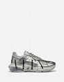 valentino  bounce low top sneaker Silver
