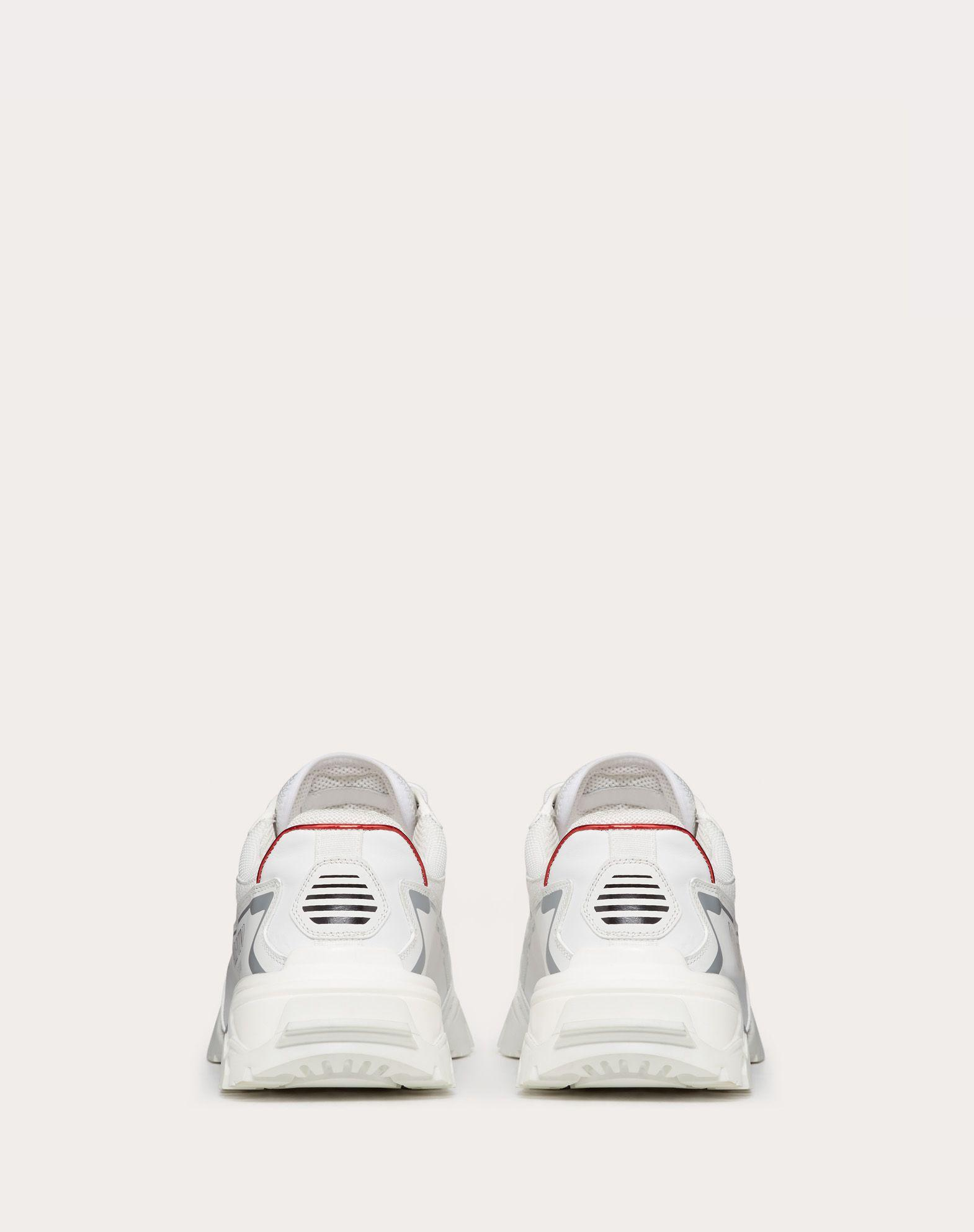 valentino climbers sneakers in fabric and leather valentino sneaker  4