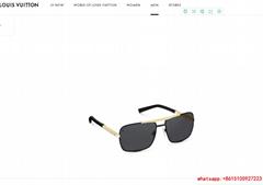 louis vuitton attitude sunglasses  Z1080U lv sunglass Black/Gold-color frame