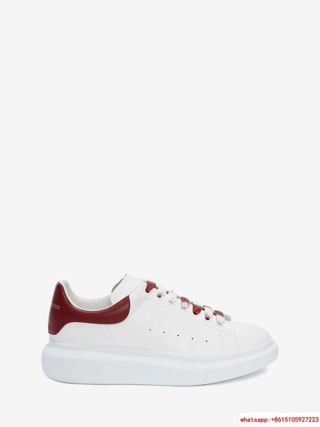 alexander         oversized sneaker RED GARNET  size for 35-44   1